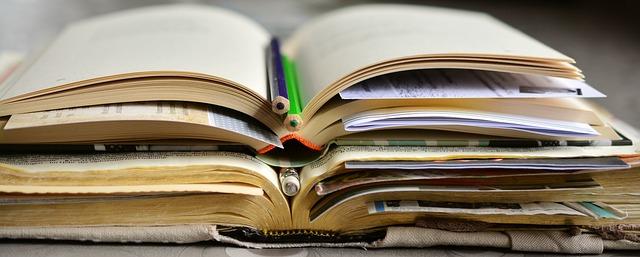 záložky v knihách