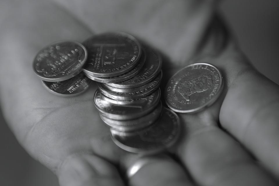 mince v dlani